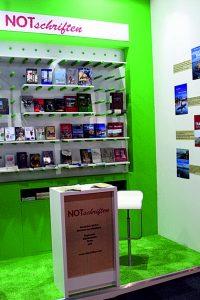 Notschriften-Verlag auf der Frankfurter Buchmesse